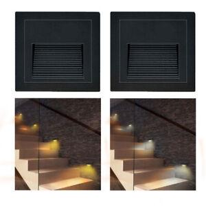 LED Treppenbeleuchtung Wand-Einbauleuchte Stufenlicht Treppenlicht für UP-Dose