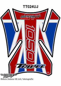 Triumph Spint ST 05-09 Fender Mudguard Motorcycle Motografix 3D Gel Protector