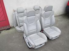 Lederausstattung Sportsitze Audi A4 S4 B6 8E LEDER Sitz silber sternsilber