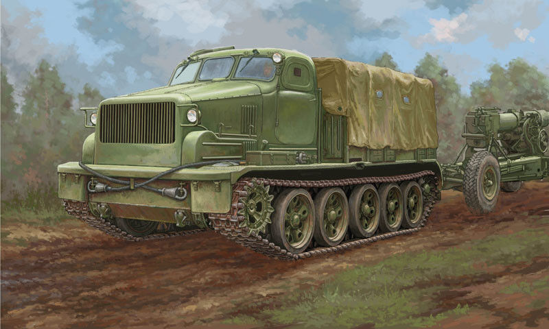 Trumpeter 1 35 AT-T Artillery Prime Mover