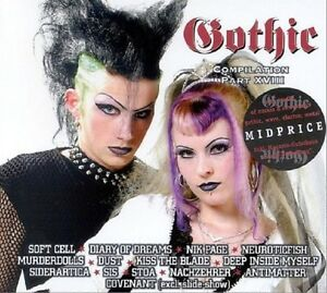 GOTHIC-COMPILATION-18-CD-Diary-of-Dreams-Stoa-NeuroticFish-Soft-Cell