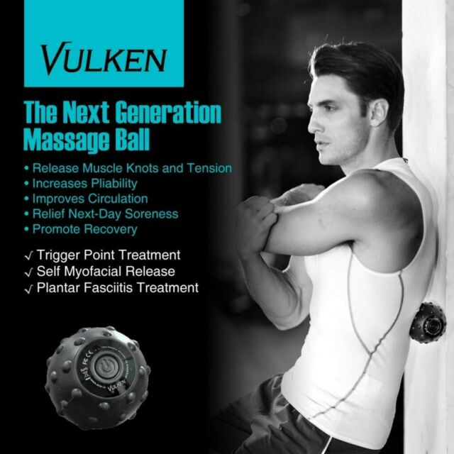Electric Vibrating Massage Ball Fitness Ball Portrable Local Muscle Relaxation