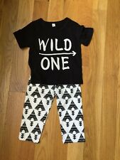 wild one outfit , first birthday outfit