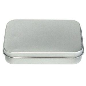 Tin-Lid-Small-Case-Coin-Case-Money-Box-Empty-Storage-Metal-Flip-Storage-Box