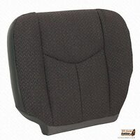 2006 Chevy Silverado Truck 1500hd Driver Side Bottom Cloth Seat Cover Dk Gray