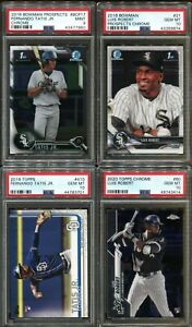 Absolute Mystery Pack Patch Auto Fernando Tatis Jr Luis Robert Rookie PSA 10