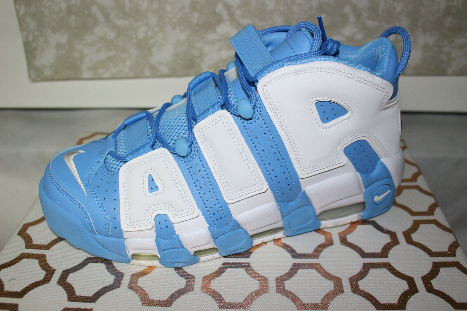 Nike Air Air Air More Uptempo '96 921948-401 University bluee, Brand New Size 11.5 03f9bd