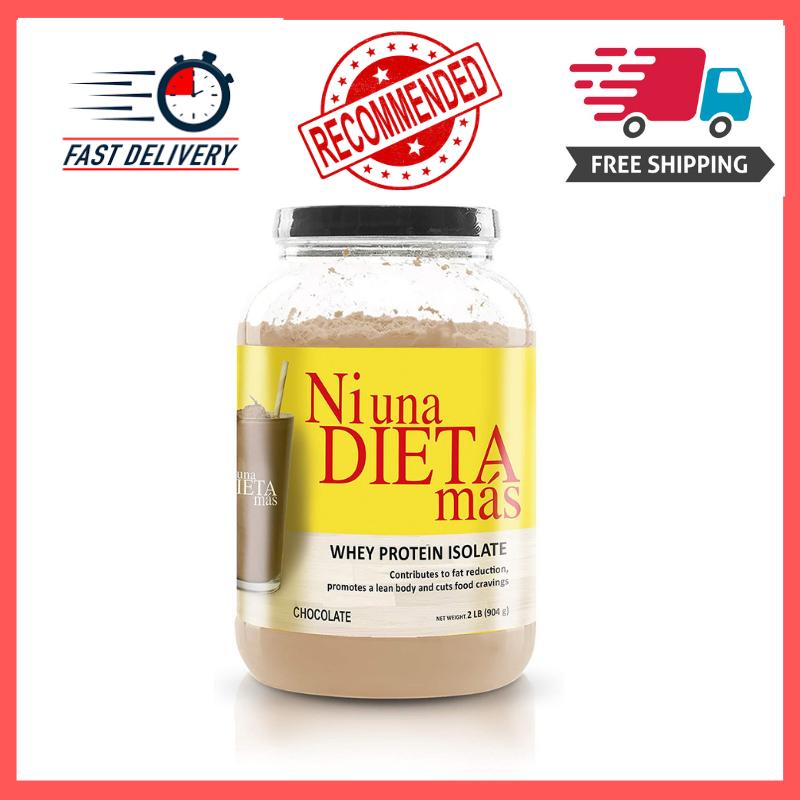 Ni Una Dieta Mas Whey Protein Isolate Chocolate No Sugar Fat Reducing Keto For Sale Online Ebay