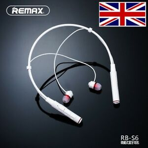 2017 REMAX S6 Magnetic Sports Neckband Bluetooth Headphones Mic Remote Control - Manchester, United Kingdom - 2017 REMAX S6 Magnetic Sports Neckband Bluetooth Headphones Mic Remote Control - Manchester, United Kingdom