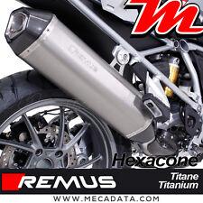 Silenziatore Tubo di scarico Remus Hexacone titanio BMW R 1200 GS 2016