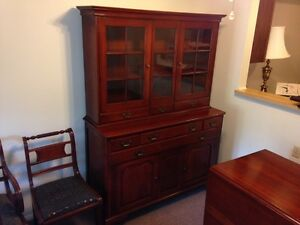 Vintage Cherry Dining Room Furniture (made by Willett Furniture ...