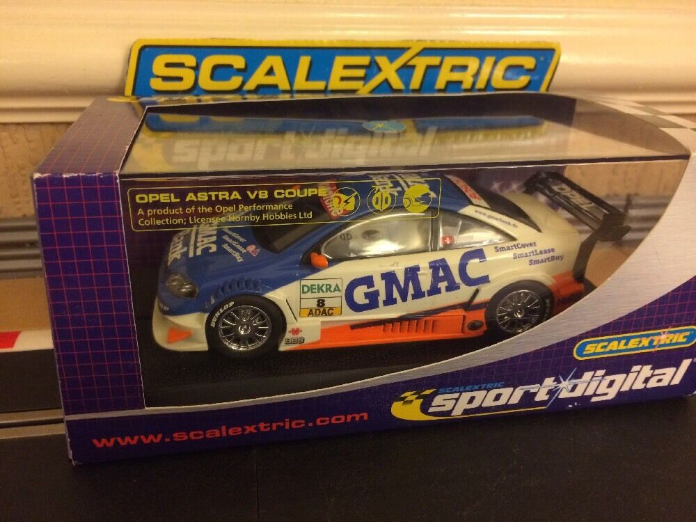 Scalextric Digital Opel V8 Coupe  GMAC  No8 (C2569D) Mint Boxed