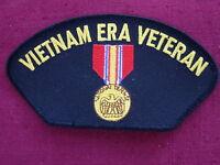 "Patch  ""VIETNAM ERA VETERAN w/ MEDAL""  cap embroidered patch,  # FLB1638"