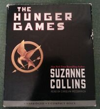 The Hunger Games by Suzanne Collins 9 CD Audiobook Unabridged Book on CD