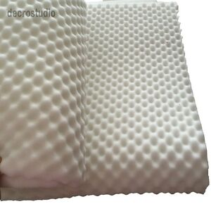 Egg Crate Convoluted Foam Mattress Pad 1 Thick TwinFullQueen