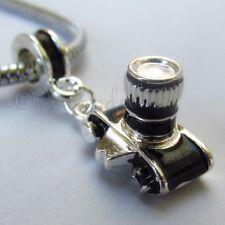 Photography Camera Large Hole Charm For Euorpean Charm Bracelets