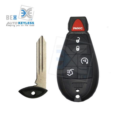 Uncut Replacement Key Fob Keyless Entry Remote for JEEP 2008-2010 Commander