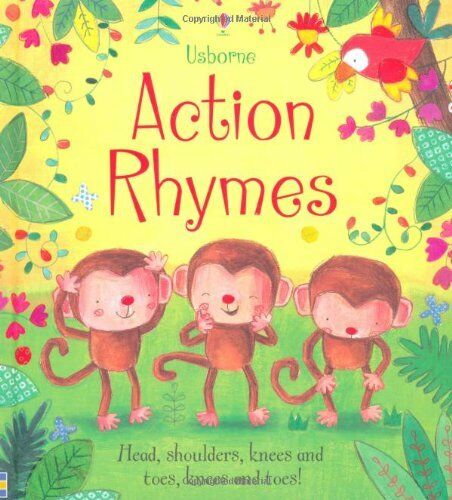 Action Rhymes (Tabbed Board Book) By Felicity Brooks