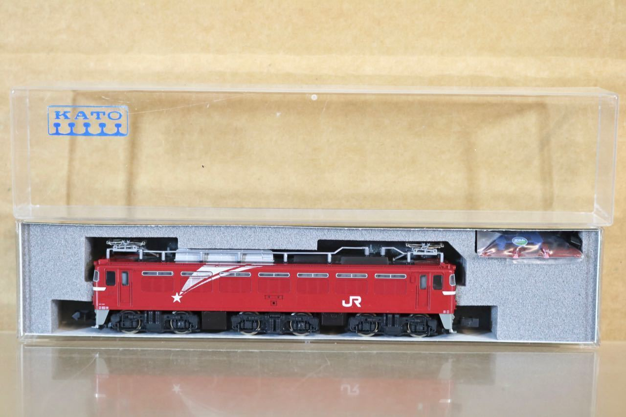 KATO 30213 JR JNR MAROON classe EF81 ELECTRIC LOCOMOTIVE MINT scatolaED nr