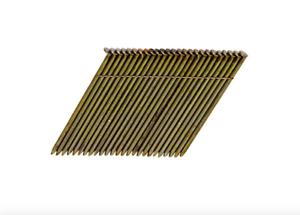 Dewalt 3.5 x .131 inch Hot Galvanized Framing Nail Gun Nails 2000 Pack 28 Degree
