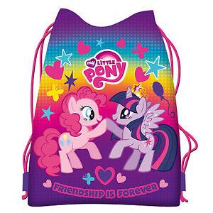 Image Is Loading My Little Pony Drawstring Shoe Bag Dance Swim