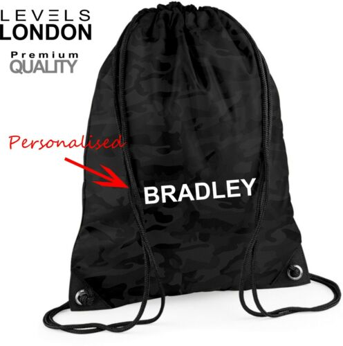 P E bag school college travel work gym sack PE sports backpack premium 2019