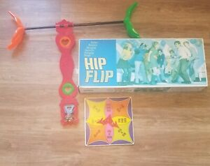 HIP FLIP Swinging PARTY GAME Parker Brothers - In Box 1968 Retro Vintage