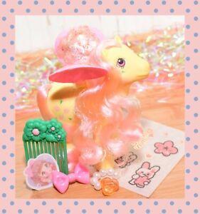 ❤️My Little Pony MLP G1 Vtg 1986 Flutter Pony Queen Rosedust with Wings & Comb❤️