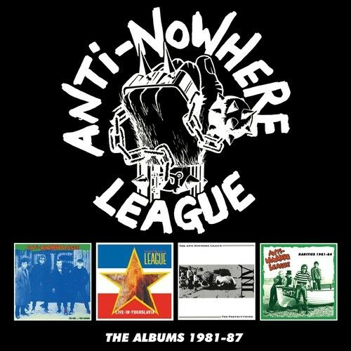 The Anti-Nowhere League - Albums 1981-1987 [New CD] Boxed Set, UK - Import
