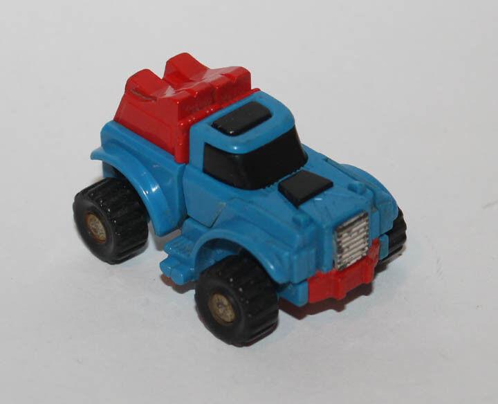 1985 Brazil Estrela Hasbro Blau Gears Mini Cars Cars Cars 100% Complete Transformers 807144