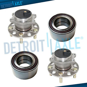 Rear Wheel Bearing and Hub Assembly fits 2013 Mitsubishi RVR Model Specifics: FWD
