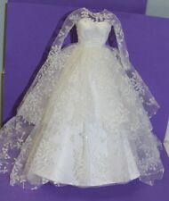 Vintage Barbie Reproduction #972 Wedding Day Set GOWN w Barbie® Tag 50th Ann