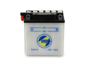 Batterie 12V 3,0Ah für Simson S53 und S83