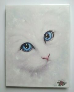 Spirit Of Equinox - Winter Cat 25.5 x 19.5 x 0.8cms (on frame with fixings)