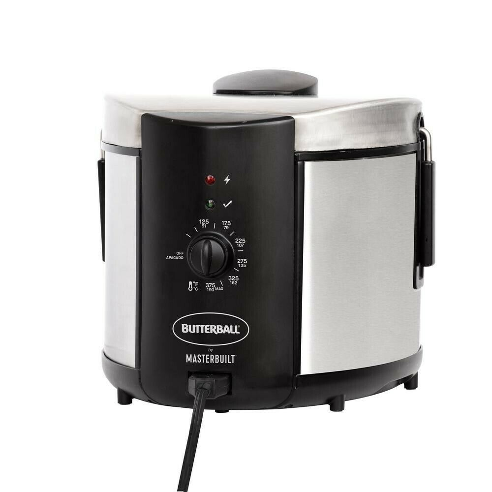 Butterball Masterbuilt Electric Deep Fryer -MB23015018  (FRY, STEAM, or BOIL)