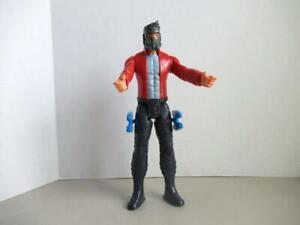 Marvel-Gardiens-de-la-Galaxie-Serie-Titan-Star-Lord-Bleu-armes-Action-Figure
