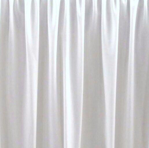 16   FULL WHITE BEDSKIRT OR DUST RUFFLE  SPLIT CORNERS made in usa