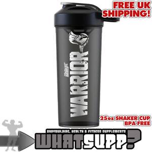 Nutrex Research WARRIOR PROTEIN DRINK SHAKER BOTTLE 20oz 600ml Bodybuilding Gym