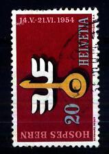 SWITZERLAND - SVIZZERA - 1954 - Eventi annuali: il turismo svizzero e internazio