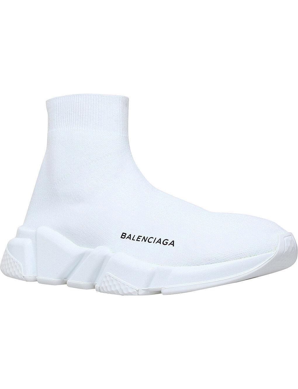 Balenciaga velocidad Calcetín Para Para Para Mujer Zapatillas Mid blancoo blancoo  venta mundialmente famosa en línea