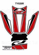 Yamaha R1 R1M 2015 2016 2017 Red Motorcycle Tank Pad Motografix 3D Gel Protector