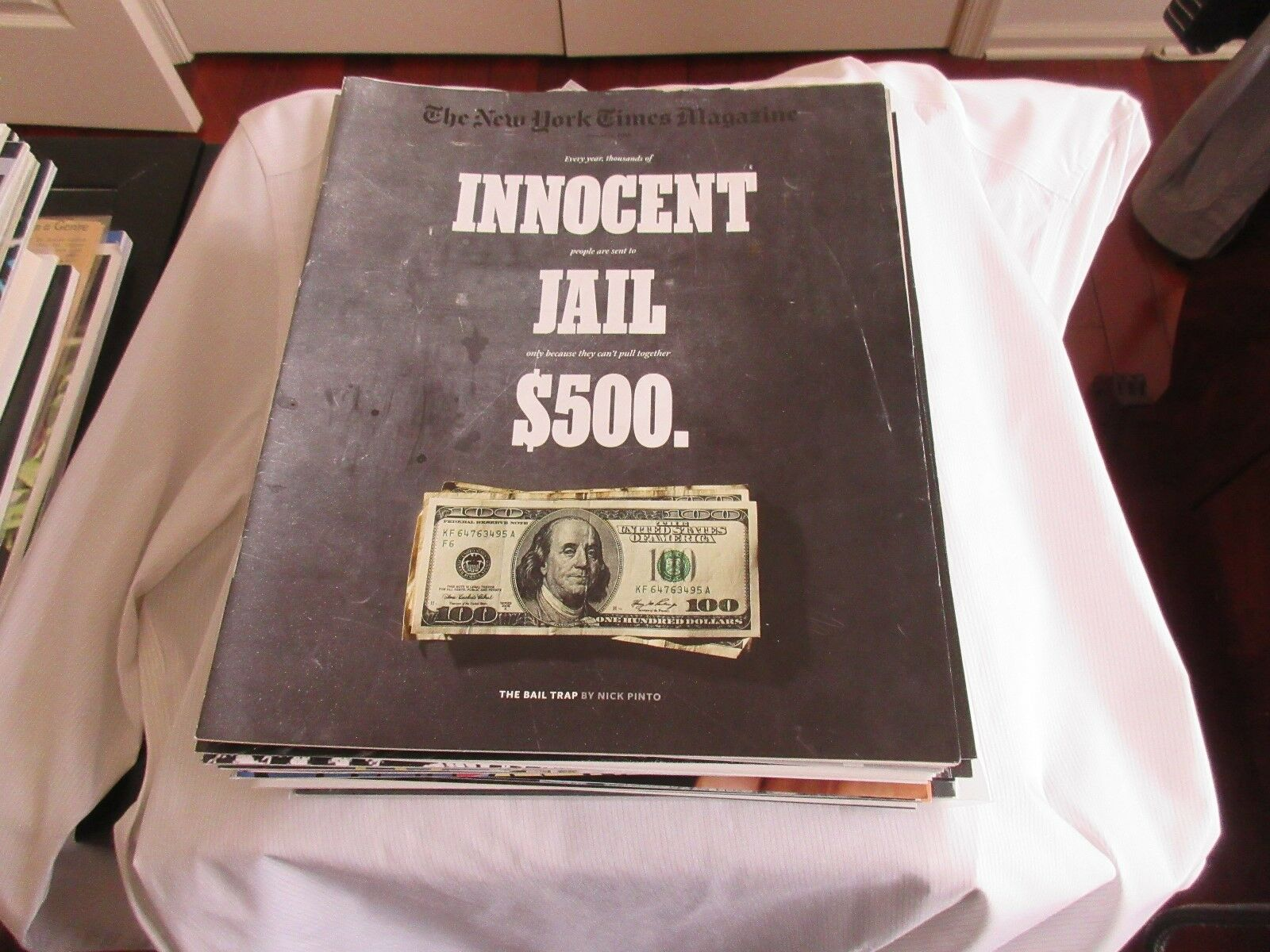 Innocent & Sent to Jail , The Bail Trap , New York Time
