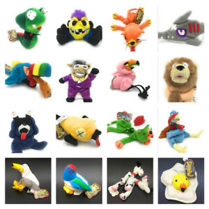 Meanies-Soft-Toy-Animal-Bean-Bags-Collectable-Beanies-1990s-Series-1-amp-2-amp-Xmas