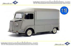 Citroën Tube Hy 1969 Gris Solido - So 1850020 Echelle 1/18