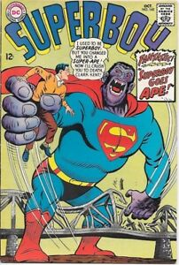 Superboy-Comic-Book-142-DC-Comics-1967-FINE