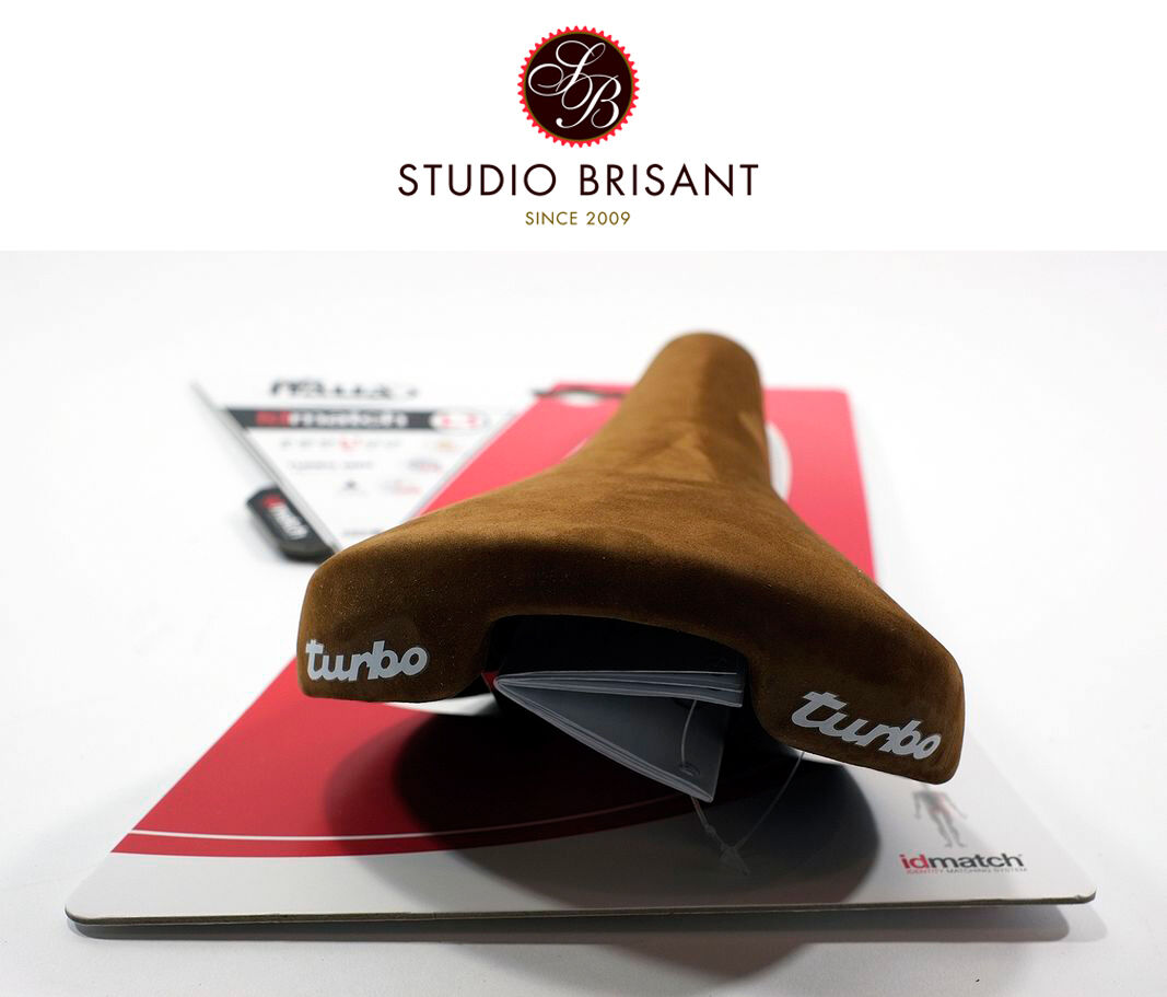 Selle Italia Turbo Velour Leder Sattel   Saddle  black  + brown  Modell 1980  online shopping and fashion store