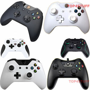 WIRED-OR-WIRELESS-CONTROLLER-FOR-MICROSOFT-XBOX-ONE-PC-WINDOWS-BLACK-OR-WHITE