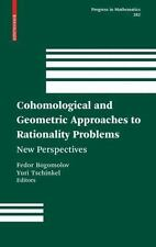 Cohomological and Geometric Approaches to Rationality Problems : New...