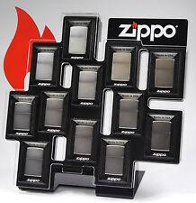 Zippo Display Acryl Ständer für 12 Zippos leer- ohne Feuerzeuge UVP 200 Euro