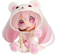 "3"" Polar Bear Pink Hatsune Miku Anime PVC Action Figure Toy Gift"